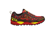 Brooks Men's Cascadia 8 high risk red/java/nightlife/black